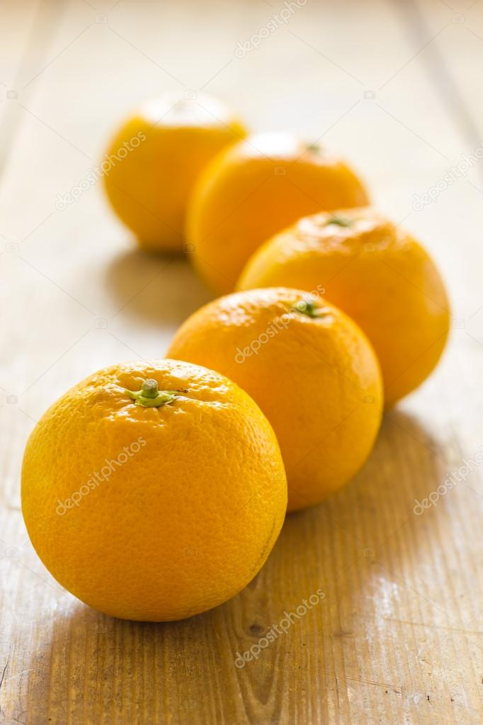 A clos up view of same oranges — Stock Photo #21145411