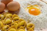 Tortellini Bolognesi — Stock Photo