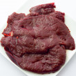 Calf's liver — Stock Photo