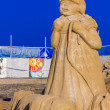Stock Photo: Sand sculptures