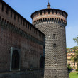 Stock Photo: Castello sforzesco Milano