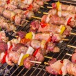 Stock Photo: Grilled skewers
