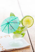 Cold Mojito cocktail — Stock Photo