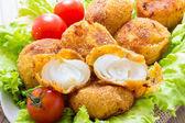 Onion croquettes — Stock Photo