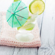 Stock Photo: Cold Mojito cocktail