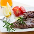 Veal steaks — Stock Photo