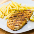 Grilled swordfish — Stock Photo #37550257