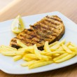 Grilled swordfish — Stock Photo #38308969