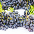 Black grapes — Stock Photo #38310431