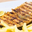 Grilled swordfish — Stock Photo #39058423