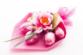 Easter bunch of flowers — Stock Photo