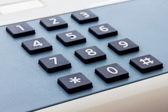 Telefonní klávesnice — Stock fotografie