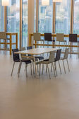 Company cafeteria — Stock Photo