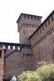 Castello sforzesco Milano — 图库照片