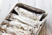 Fish foil — Stock Photo