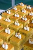 Delicious desserts — Stock Photo