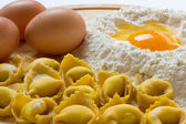 Tortellini Bolognesi — Stock Photo
