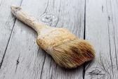 Old paintbrushes used — Stock Photo