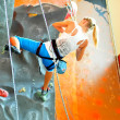 Competitions in rock climbing — Stock Photo #13853773