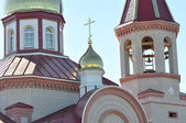 Architectural elements of the Orthodox Church — Stock Photo