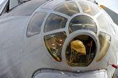 Aggregates transport aircraft — Stock Photo