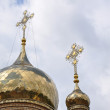The domes of the Orthodox Church — Photo