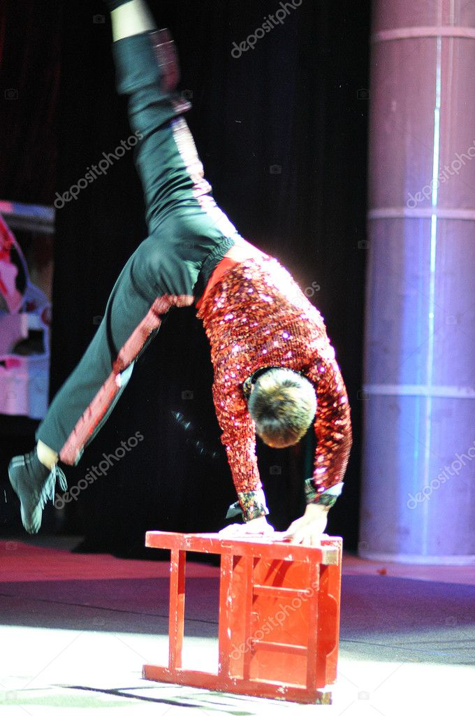 Artists of Chinese circus — Stock Photo #14136944