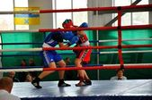 October 18, 2012, Russian Championship in boxing among women, the city of O — Стоковое фото