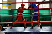 October 18, 2012, Russian Championship in boxing among women, the city of O — ストック写真