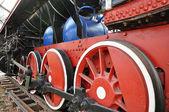 Elementos da locomotiva a vapor — Foto Stock