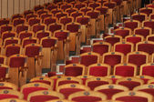 Rows of chairs — Stok fotoğraf