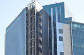 现代建筑的外立面的元素 — 图库照片