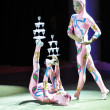 Chinese circus, 29.10.2012, city of Orenburg, Southern Ural, Russia - ストック写真