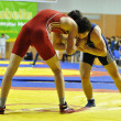 Competitions on Greco-Roman wrestling - Stock Photo