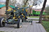 100 mm zenithal gun KS 19 parts — Stock Photo