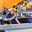 Table tennis competitions — Stock Photo