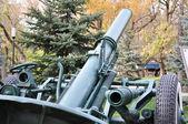 Elementi di mortaio sovietico — Foto Stock