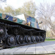 Self-propelled gun mount — Stock Photo #17191399