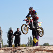 Stock Photo: Motocross Junior Championships