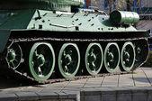 Soviet tank T34 — Стоковое фото