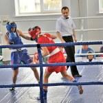 Women's boxing — Stock Photo #18080077