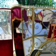 Wedding carriage — Stock Photo #18763061
