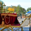 Wedding carriage — Stock Photo