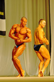 Bodybuilding competitions — Stock Photo