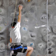 Competitions in rock climbing — Stock Photo #19727851