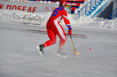 Competition for bandy — Stock Photo