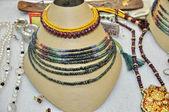 Biżuteria naszyjnik z indii — Zdjęcie stockowe