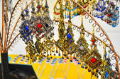Colorful indian Jewelry — Stock Photo