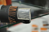 A sample of modern power cable — Stock Photo