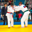 Judo competitions among adolescents — Foto Stock